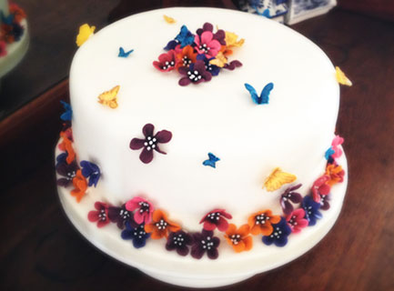 Butterlies and flowers