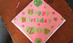 Birthday Budget Cake