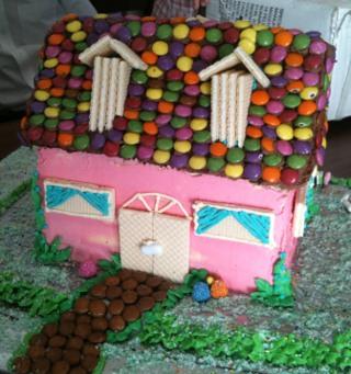 Doll House Cake