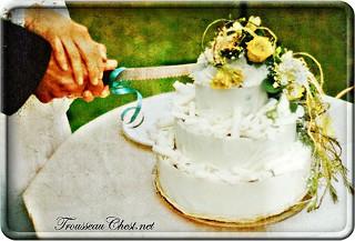 A Chocolate Wedding Cake